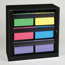 "40"" Hanging File Folder Tambour Cabinet"
