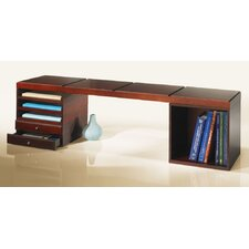 Stack and Style Desktop Bookcase