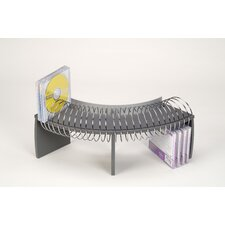 Deluxe Carousel CD Multimedia Wire Rack