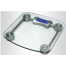Glass Digital Bathroom Scale with Rod Frame