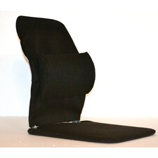 Seat Back Cushion with Adjustable Lumbar Support