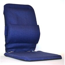 Bucket Seat Back Cushion with Adjustable Lumbar