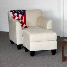 <strong>Huntington Industries</strong> Park Chair and Ottoman