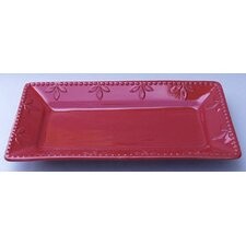 <strong>Signature Housewares</strong> Sorrento Ceramic Rectangular Tray