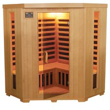 3-4 Person Corner Carbon FAR Sauna