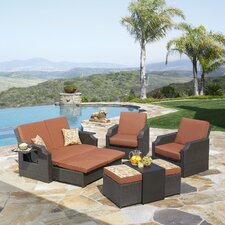 <strong>Mission Hills</strong> Sedona 4 Piece Deep Seating Group with Cushions