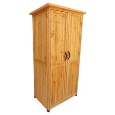 3 Ft. W x 2 Ft. D Wood Storage Shed