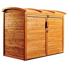 5' W x 3' D Refuse Wood Storage Shed