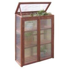 2.5 Ft. W x 1.5 Ft. D Plastic Greenhouse