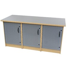 "65"" 3 Box Technology Storage Unit"