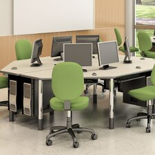 <strong>Paragon Furniture</strong> 3 Station Multi-User Workstation