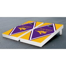 NCAA Diamond Version Cornhole Bag Toss Game Set