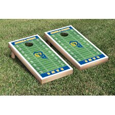 NCAA Football Field Version Cornhole Game Set