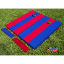 <strong>Victory Tailgate</strong> Alternating Striped Cornhole Bean Bag Toss Game