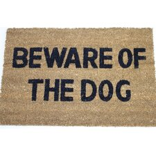 Beware of The Dog Doormat