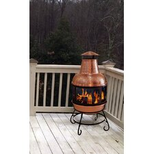 Cape Copper Chiminea