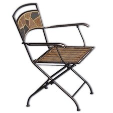 Rock Canyon Folding Dining Arm Chairs (Set of 2)