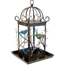 Forest Seed Hopper Decorative Bird Feeder