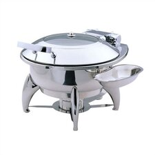 New Age Medium Chafing Dish with Glass Lid