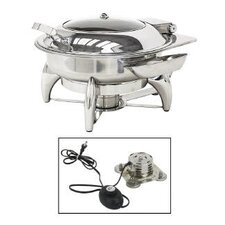 Electric New Age Round Chafing Dish