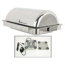 Classic Empire Style Counter Drop-In Chafing Dish with Magnetic Heater