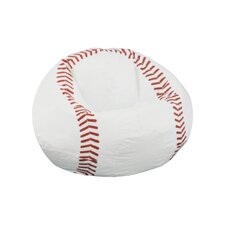 Child Sport Baseball Bean Bag Chair