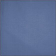 Royal Blue Solid Poly Cotton Cover