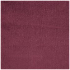 Burgundy Solid Poly Cotton Cover