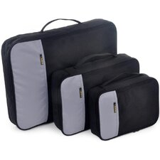 Double Organizational Quick Pack Bloq Series in Black / Gray