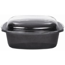 Gourmet Roaster with Glass Lid