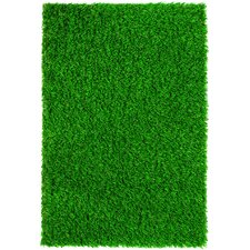 "Diamond Light Spring 90"" x 90"" Synthetic Lawn Grass Turf"