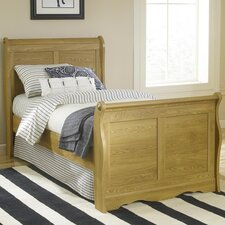 Oak Creek Sleigh Bed