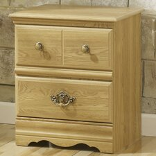 Oak Creek 2 Drawer Nightstand