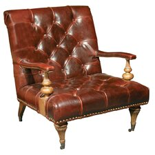 Leather Lounger Chair