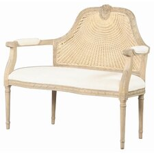 Marquis Cotton Settee Bench