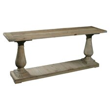 Old Baluster Console Table