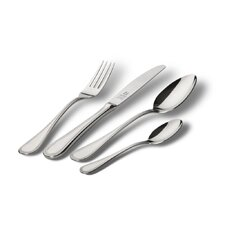 Paris 44 Piece Cutlery Canteen Set in Mirror