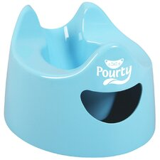 <strong>Pourty Potty</strong> Easy to Pour Potty Chair