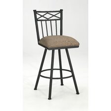 "Arthur 30"" Swivel Bar Stool with Cushion"