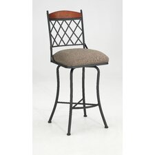 "Megan 30"" Swivel Bar Stool with Cushion"