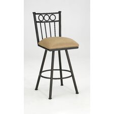 "<strong>Iron Mountain</strong> Williamsburg Quinn 26"" Swivel Bar Stool"