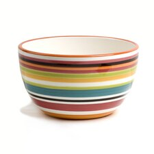 Rio Multistriped Chili Bowl