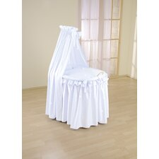 Sweety Full Length Drape Crib in Blue