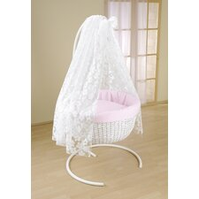 Flora Rondo Hanging Crib in Pink