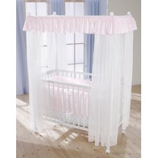 Dream Four Post Cot in Pink