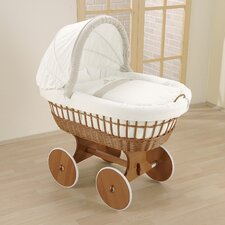 Amadeus Wicker Hood Crib