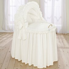 Noblesse Full Length Hood Crib in Beige
