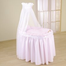 Dream Full Length Drape Crib in Pink