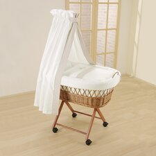 Amadeus Wicker Drape Crib