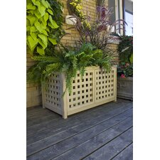Large Lattice Planter